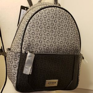 013df2f87 Guess Bags | Backpack Signature Logo | Poshmark